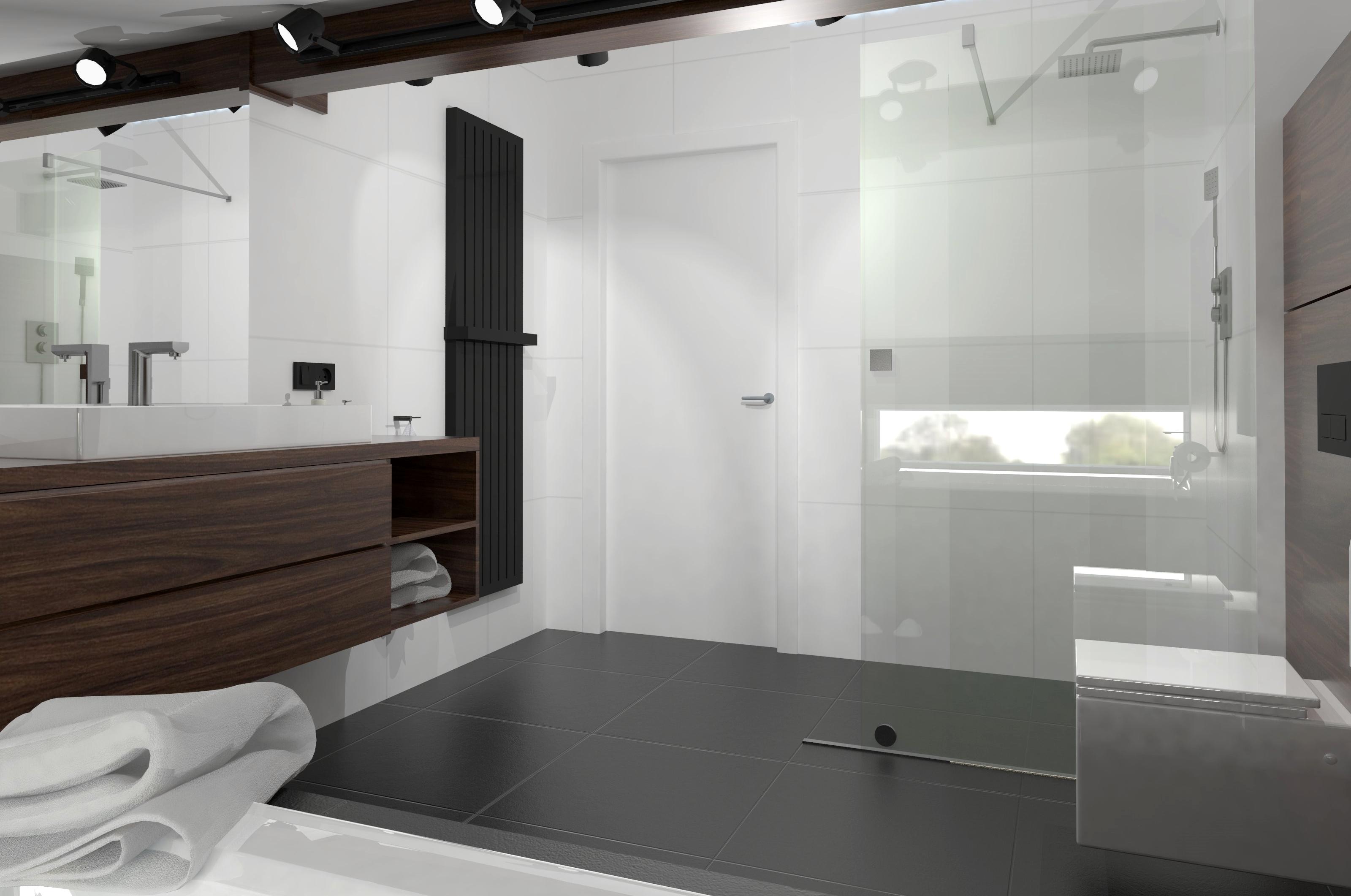 Studio ładnie łazienka Ze Skosem Olkusz