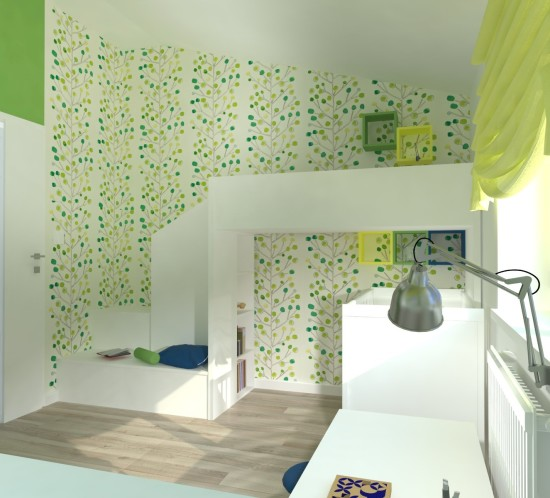 projektowanie pokoju dziecięcego Tychy aranżacja pokoju dziecięcego Tychy projektant wnętrz Tychy architekt wnętrz Tychy