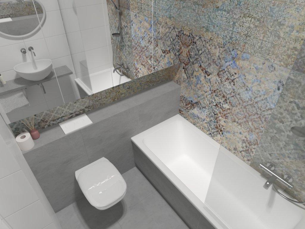 projekt łazienki Tychy, projektowanie wnętrz Tychy, architekt wnętrz Tychy