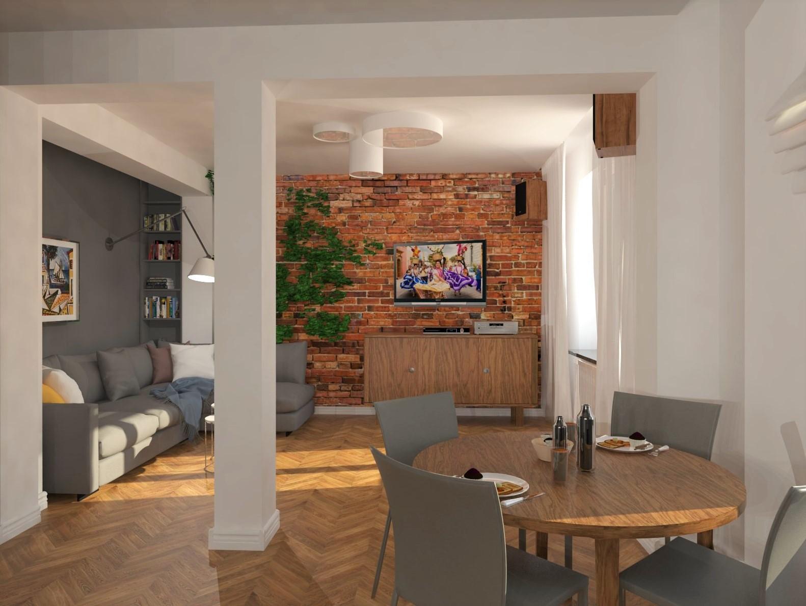 projekt kuchni Tychy, projektowanie wnętrz Tychy, architekt wnętrz Tychy