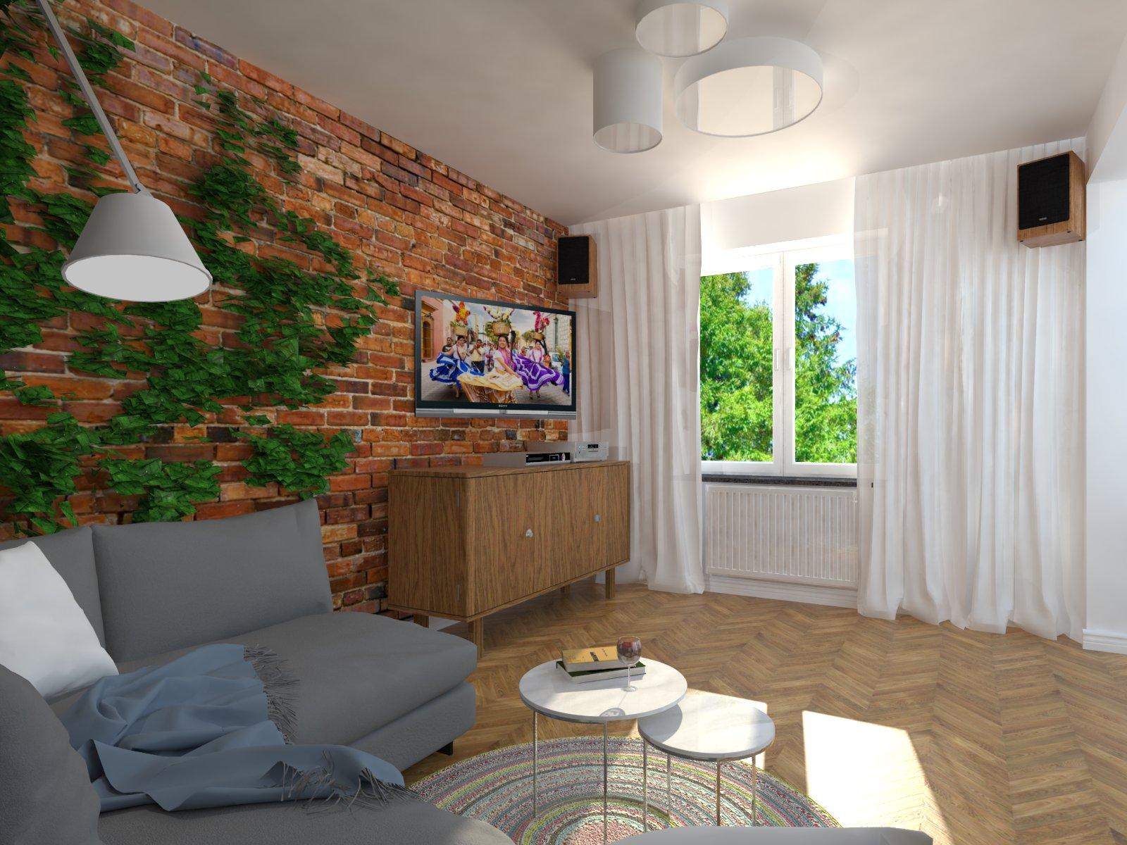 projekt salonu Tychy, projektowanie wnętrz Tychy, architekt wnętrz Tychy
