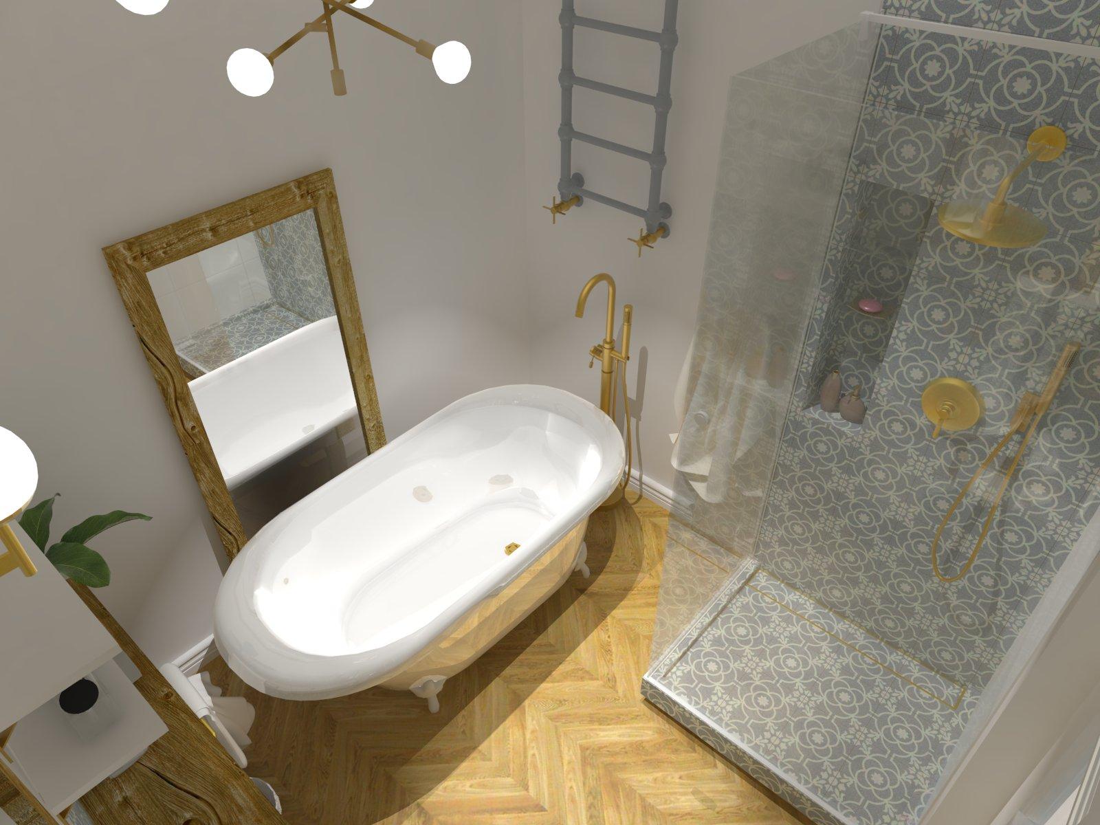 Tychy projektowanie wnętrz, mieszkanie w stylu modern vintage, mieszkanie Tychy ul. Obywatelska, Studio Ładnie Aleksandra Chmielowicz