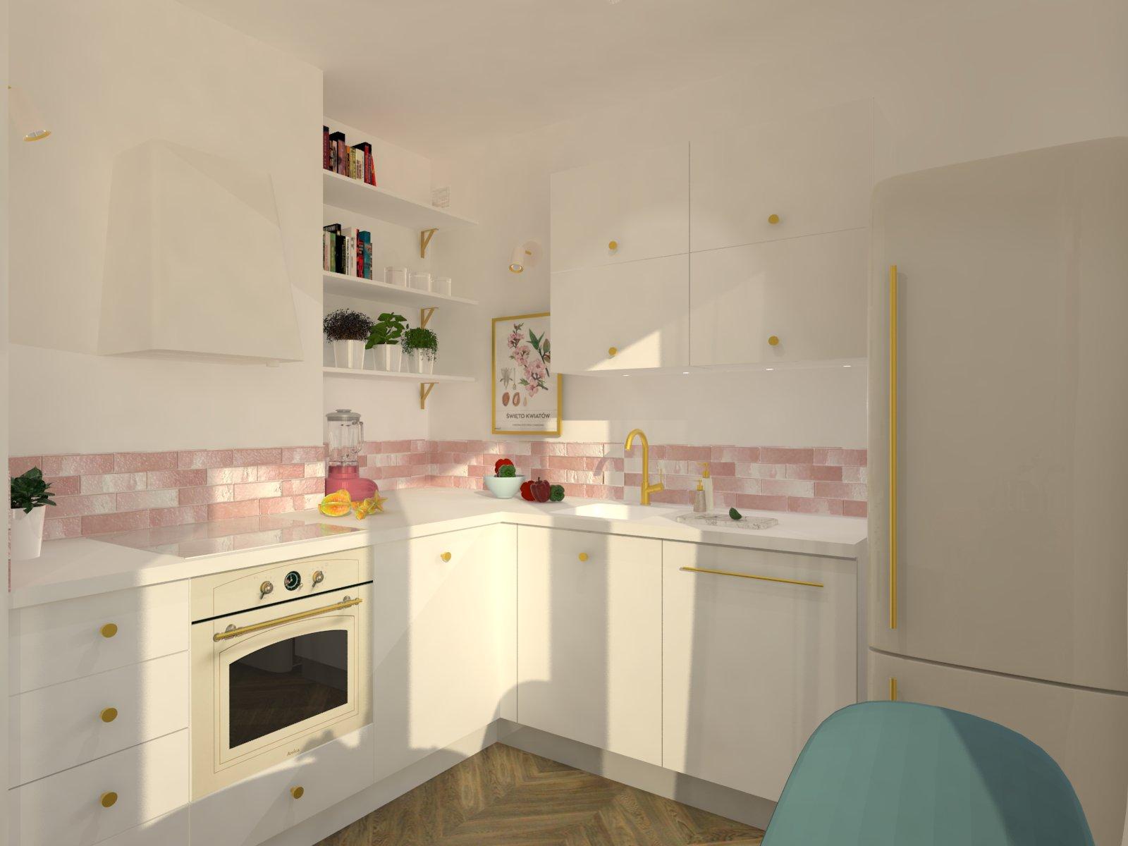 Tychy projektowanie wnętrz, mieszkanie w stylu modern vintage