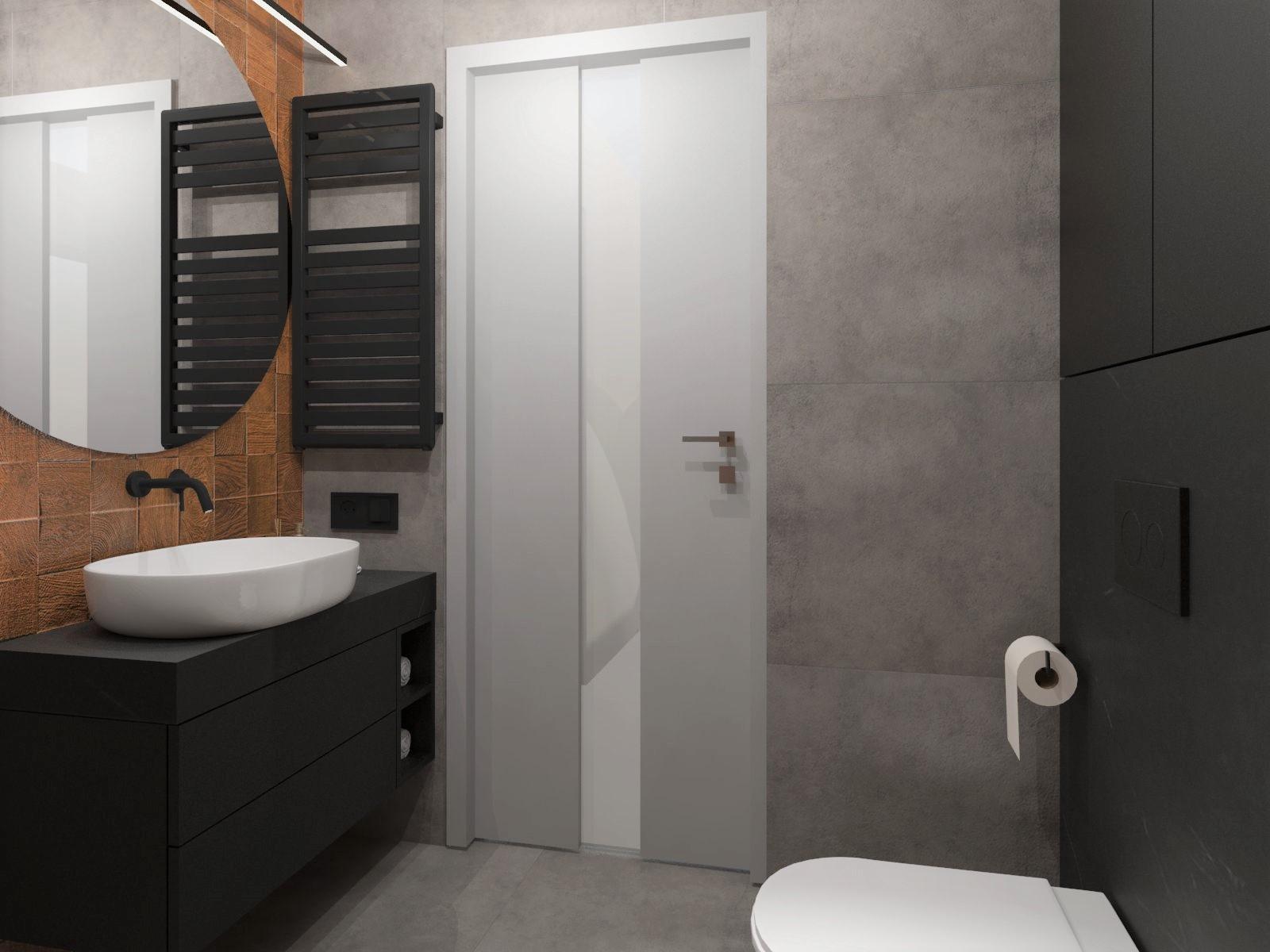Aleksandra Chmielowicz architekt wnętrz, projektowanie wnętrz Olkusz, projektowanie wnętrz Mikołów, projektowanie wnętrz łazienka Tychy